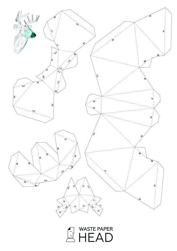 Открытка, шаблоны для паперкрафта