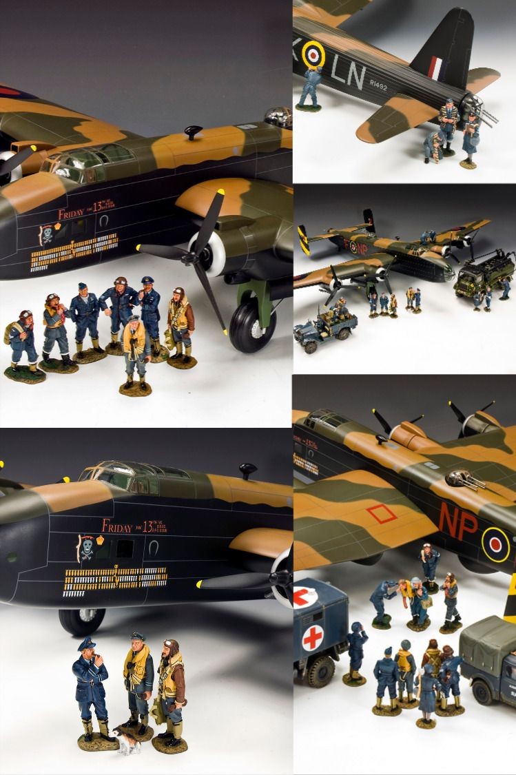 Horsa Glider Arnhem 75 King Country Aircraft Toy Soldiers
