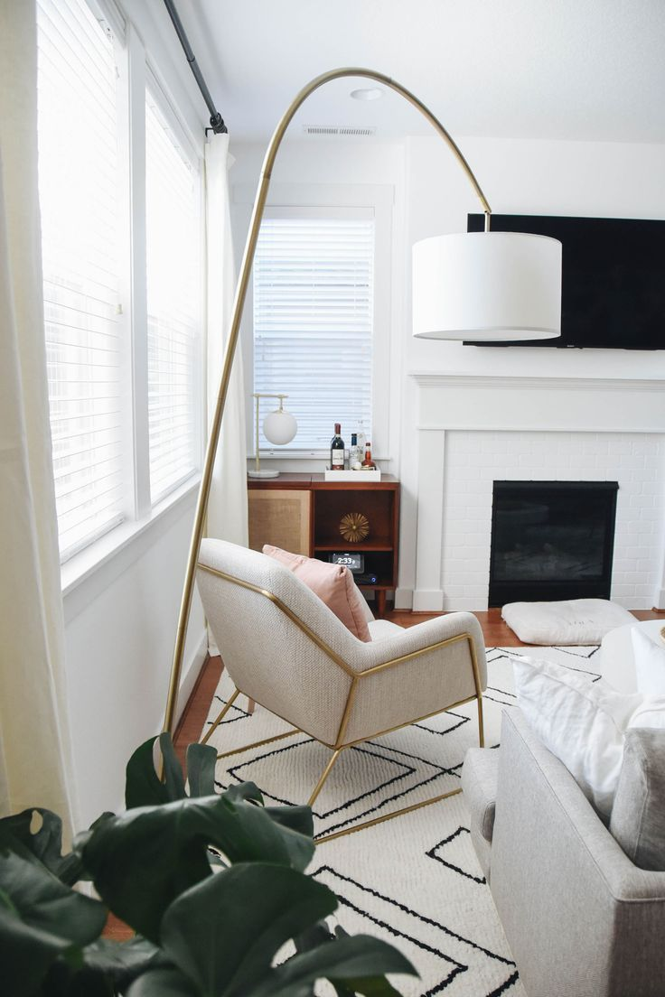 Living Room Reveal with Article #beautifularchitecture
