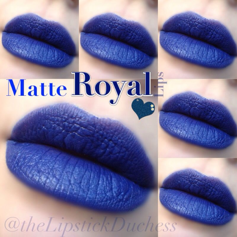 Extrêmement Mac Matte Royal Lips | Blue Lipstick | Pinterest | Macs, Lips and  XB47