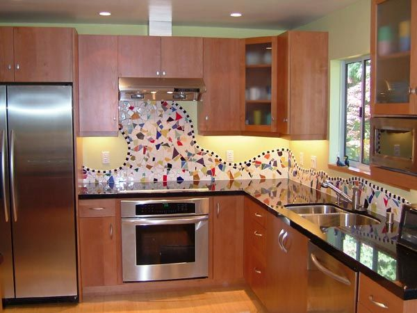 Bon Mosaic Kitchen Tiles For Backsplash Mosaic Tile Backsplash Kitchen Remodel  Marin Design Build Plans