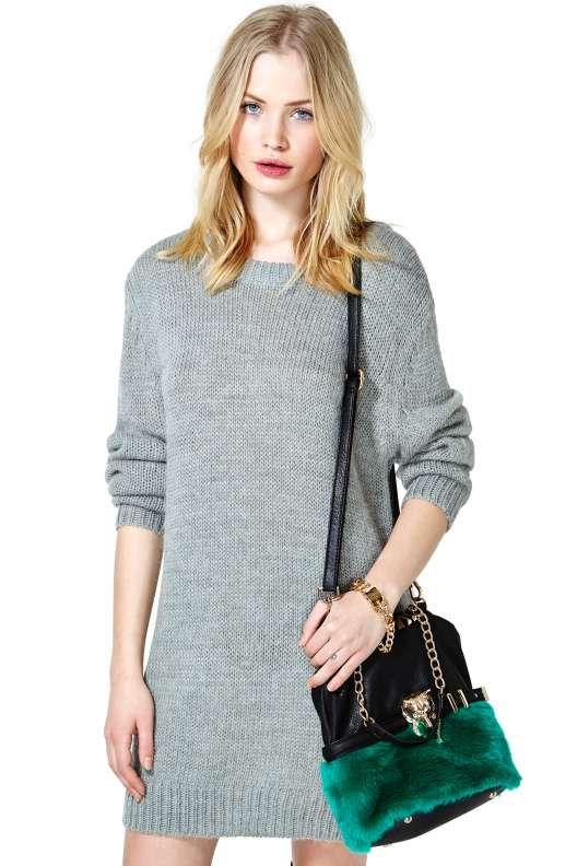 09bc6b72d28 Cheap Monday Oregon Sweater Dress
