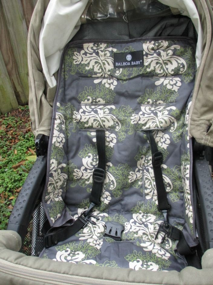 Balboa Baby Stroller Liner Swirl Review & Giveaway - A simple way to update your stroller and increase comfort for your little one.
