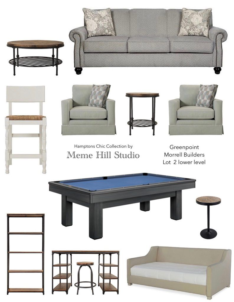 Genial Greenpoint Trail Pittsford NY: Model Furniture Reveal With Raymour U0026  Flanigan Hamptonu0027s Chic With Weathered Wood, Metals, And Soft Linens And  Gray.