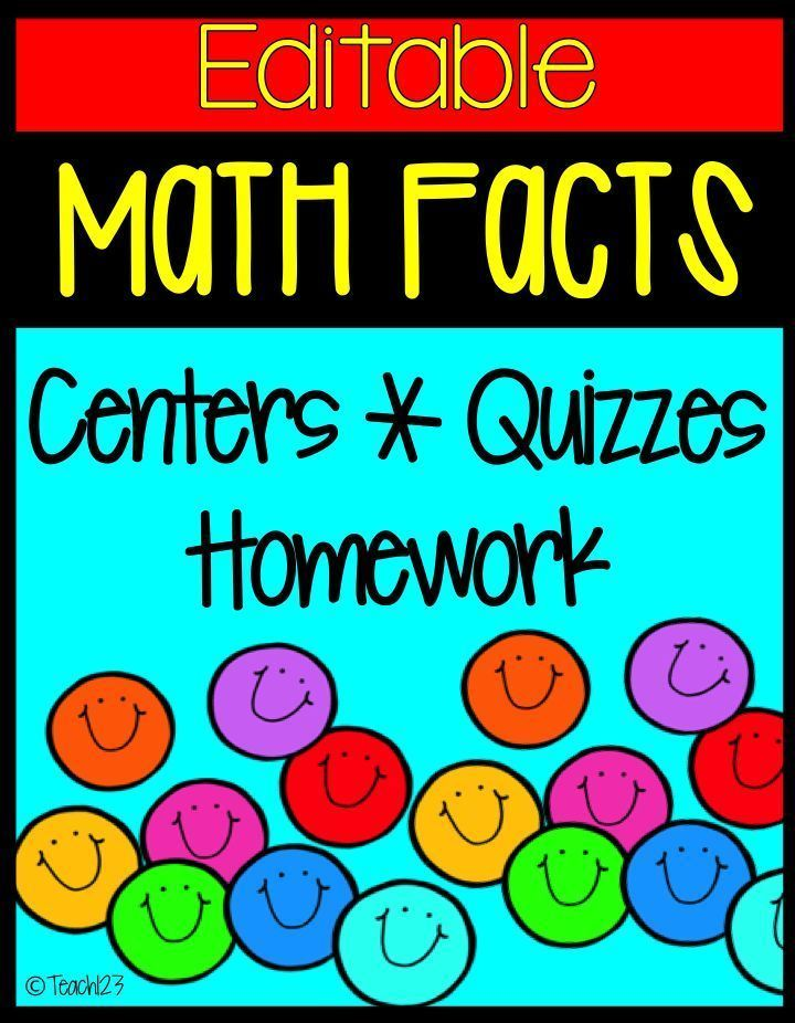 Math Facts: Addition | Math facts, Student learning and Math