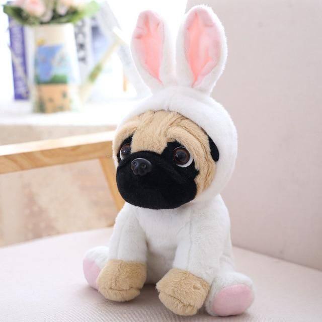 Costume Pug Stuffed Animal Plush Toy Dog Pet Toys Animal Plush