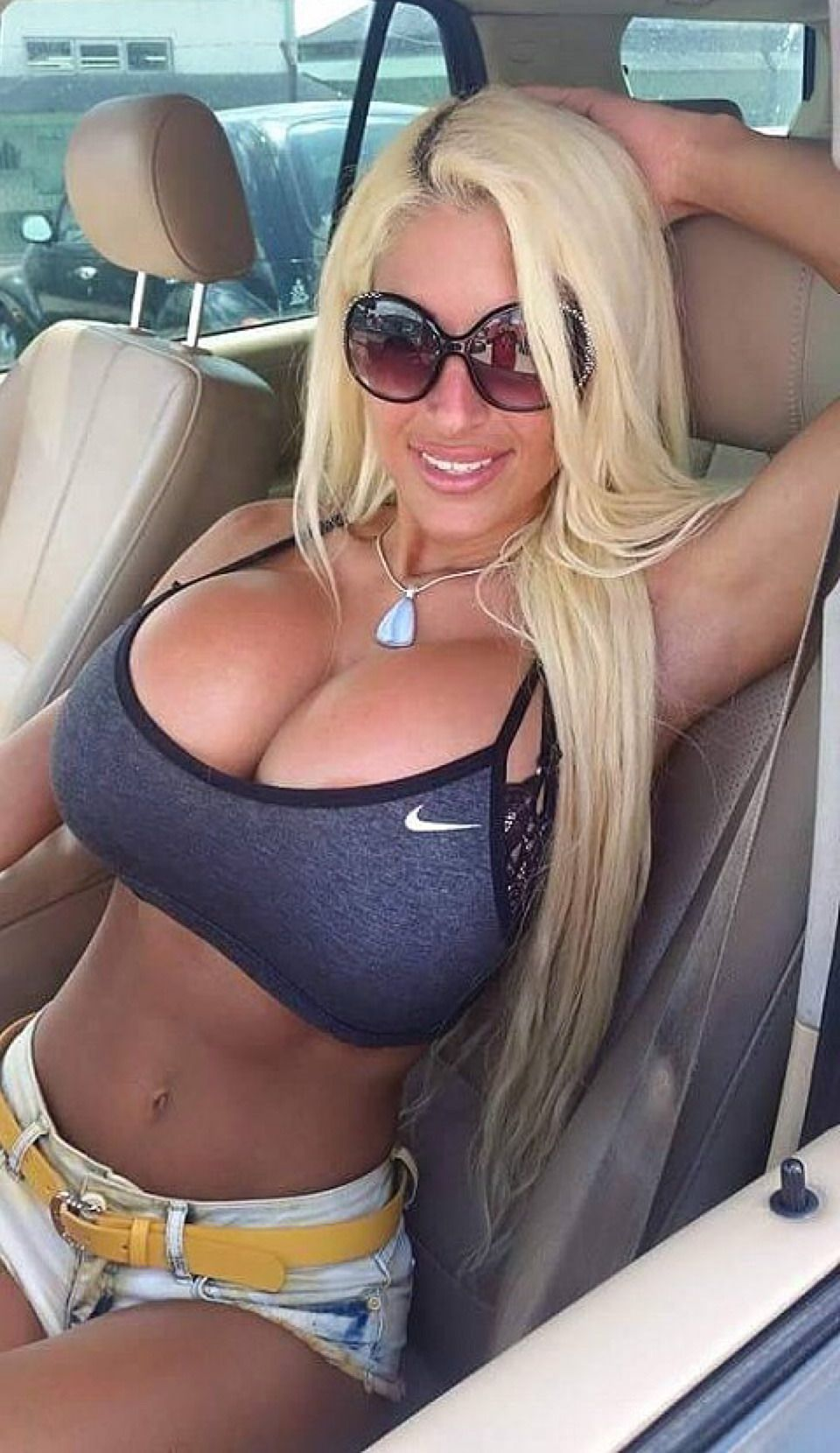 Perfect bimbo tits