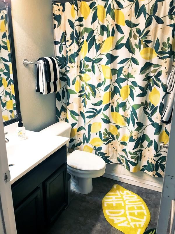 Allover Fruits Shower Curtain Home In 2019 Home New Homes