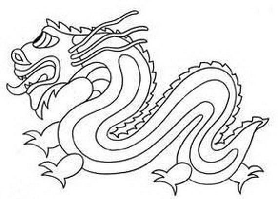 Japanese Dragon Drawings