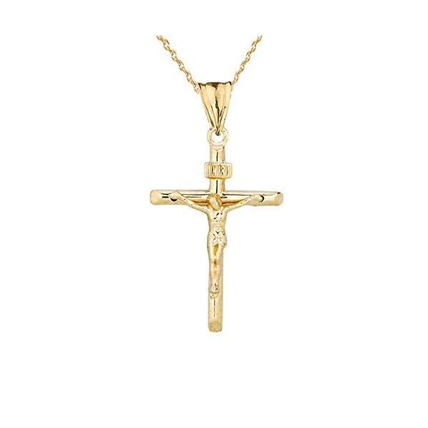 Armament Pendant Collection Show Your Faith In Jesus Christ With This Dainty Crucifix Cr Cross Necklace Silver Cross Pendant Necklace Woman Gold Cross Pendant