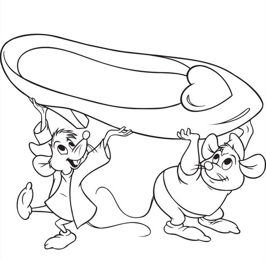 Cinderella Mice Coloring Pages At Getcolorings Com Free Printable Colorings Pages To P Cinderella Coloring Pages Disney Coloring Pages Cartoon Coloring Pages