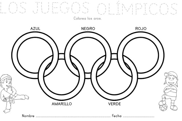 Pin En Colores De Los Juegos Olimpicos