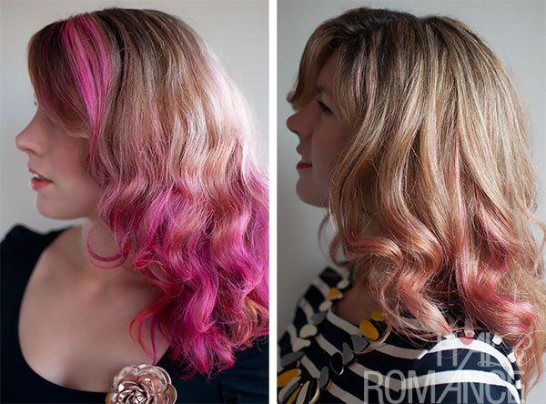 How Long Does Pink Hair Dye Last Hair Romance Pink Hair Dye Hair Color Pink Faded Hair
