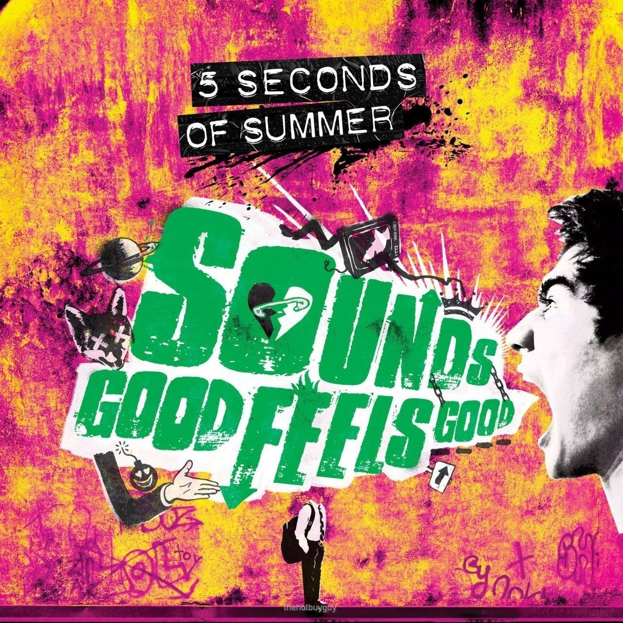 5 Seconds Of Summer Sounds Good Feels Good Target Exclusive