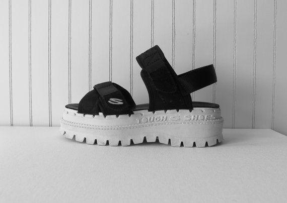 skechers platform sandals