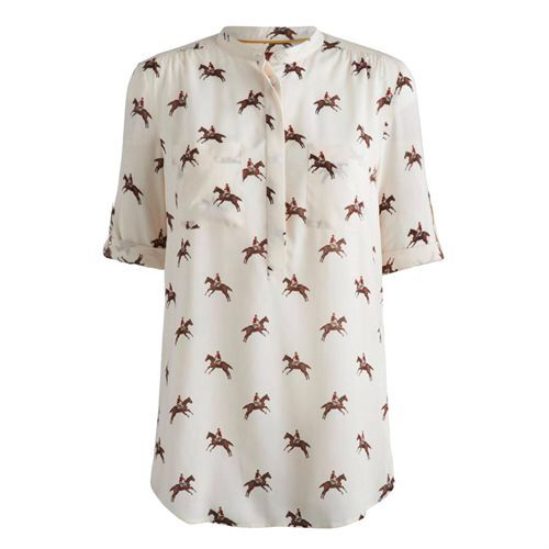 A cool equestrian themed shirt from Joules