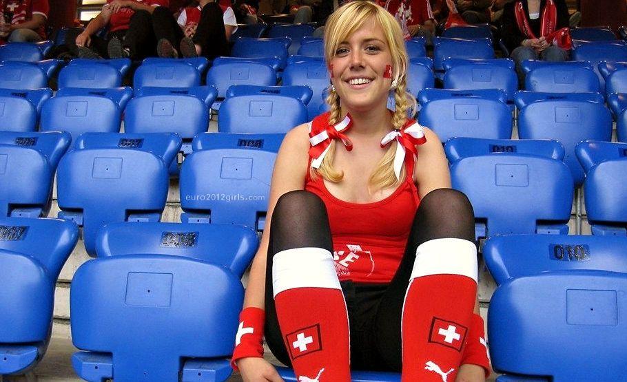 swiss girl sweet stuff world cup football fans soccer