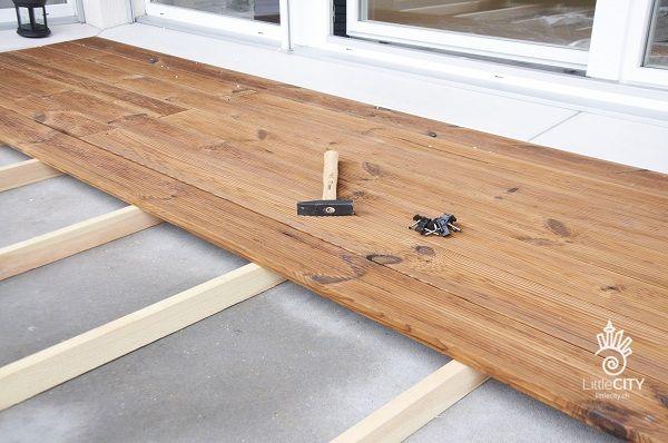 Balkon Bodenbelag Holz Verlegen ? Patrial.info Holzfliesen Balkon Holzarten