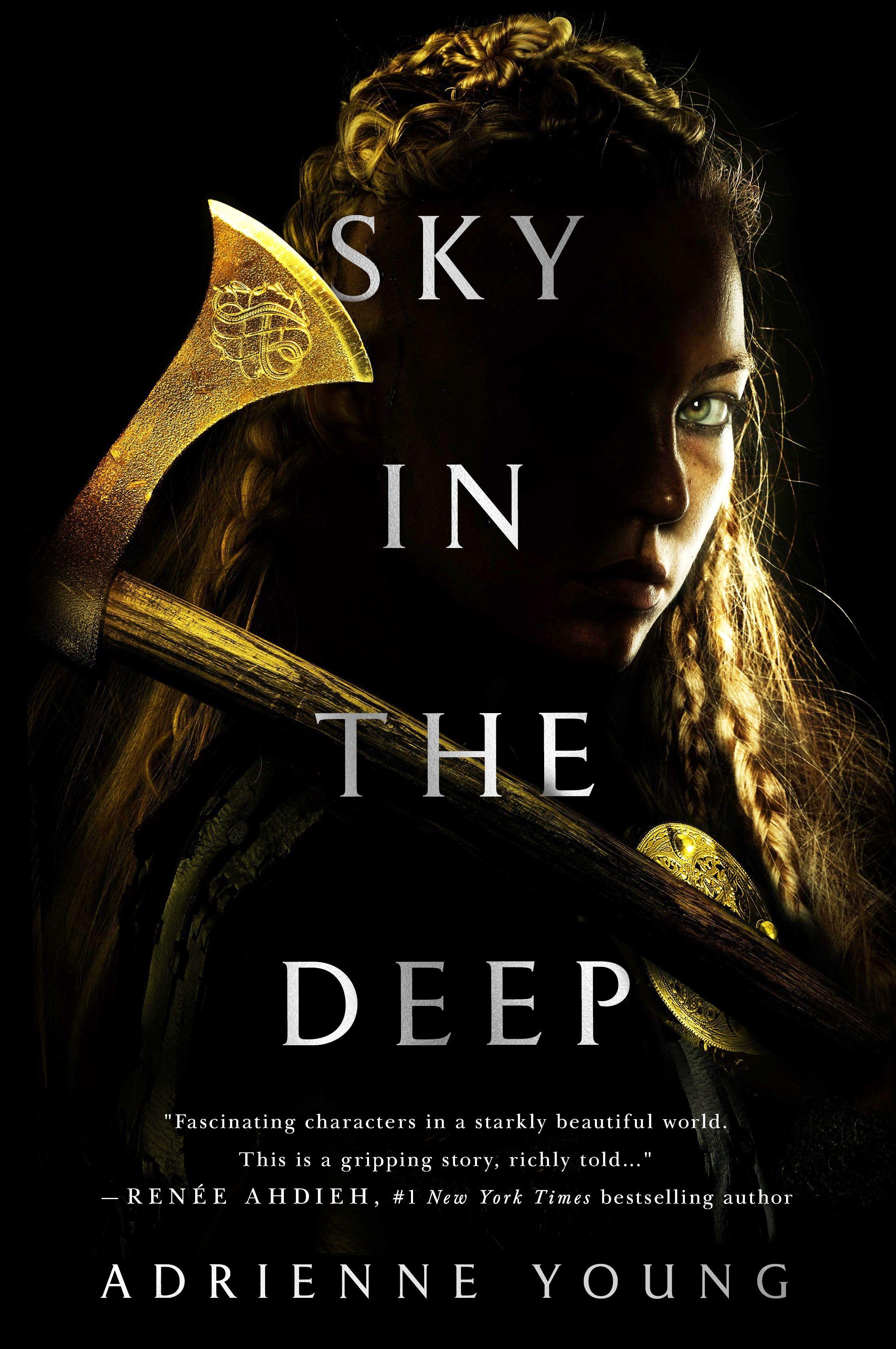 Beautiful Darkness Book Cover ~ Heres an exclusive sneak peek at ya viking fantasy sky in the deep