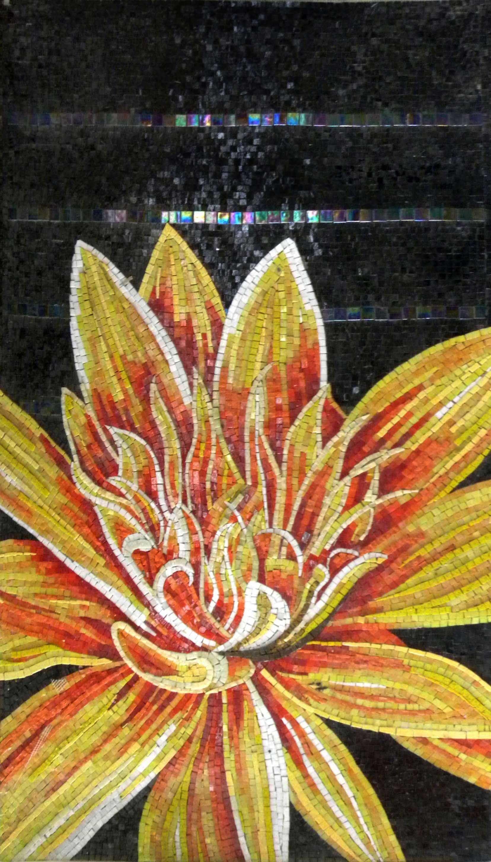 Mosaic Wall Art Lotus Flower Mosaics Pinterest Decorative