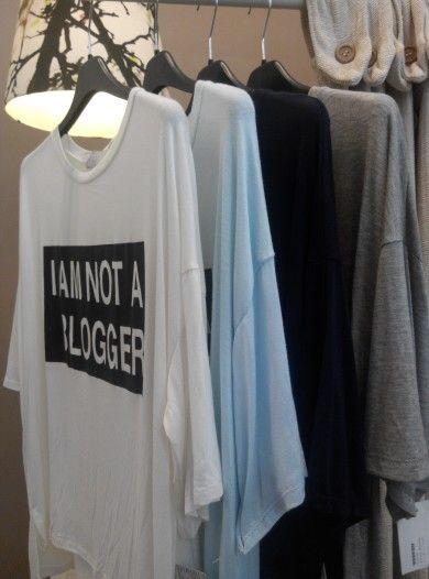 Camiseta I am not a blogger