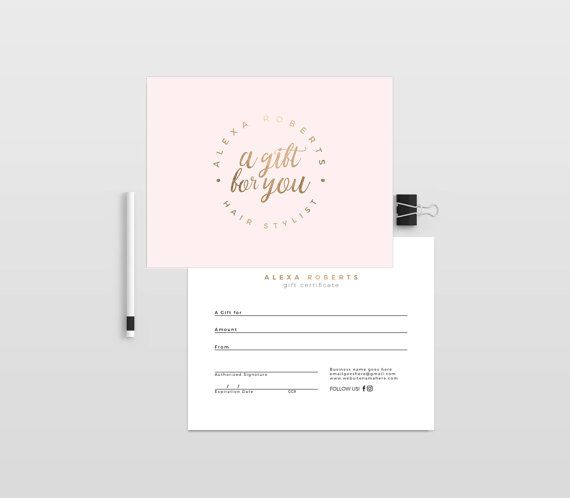 Photography Gift Certificate Template for Photographer - INSTANT - best of photographer gift certificate template