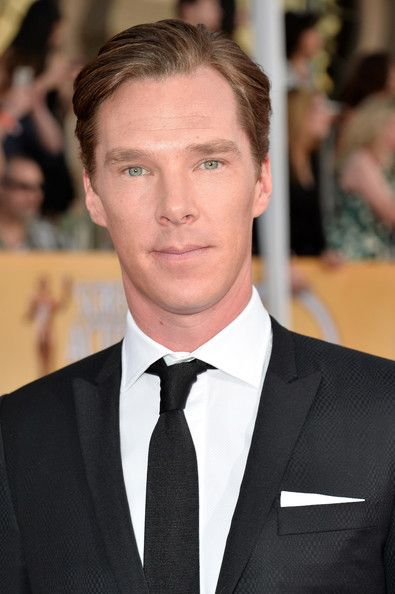 Perfection. {Benedict Cumberbatch - 20th Annual Screen Actors Guild Awards - Red Carpet}