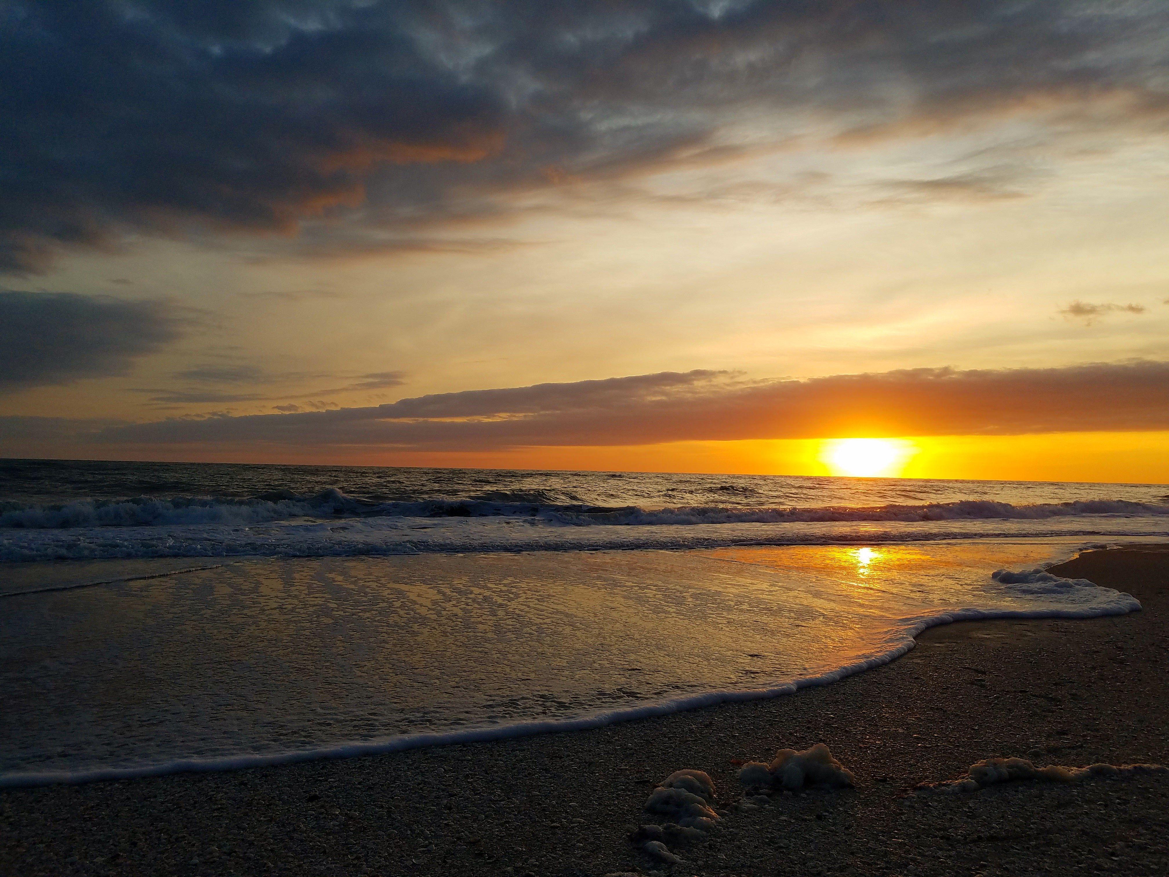 A serene moment before the sunset on Manasota Key.   State ...