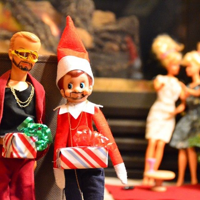 Some creative Elf on the Shelf owners have made their own fun out of the children's toy, making it just as enjoyable for adults.