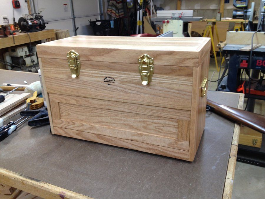woodworking plans gun cleaning box | to build | pinterest