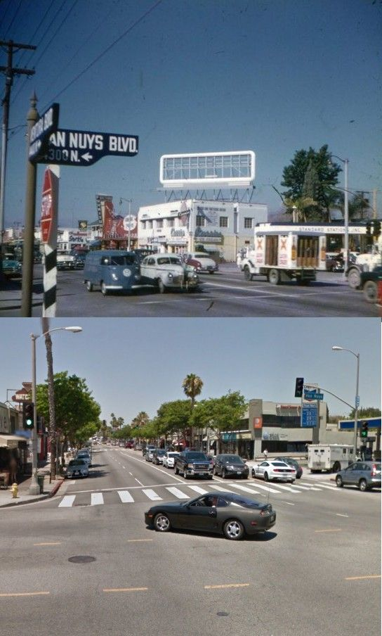 Then \ Now Ventura Blvd \ Van Nuys Blvd - Sherman Oaks 1950s and - best of van nuys courthouse marriage certificate