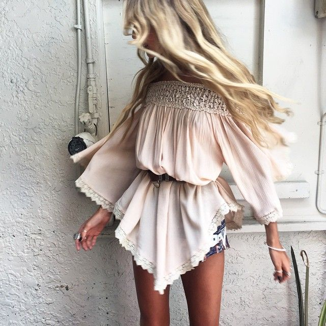 ➳➳➳☮American Hippie Bohemian Boho Bohéme Feathers Gypsy Spirit Style- Cute top