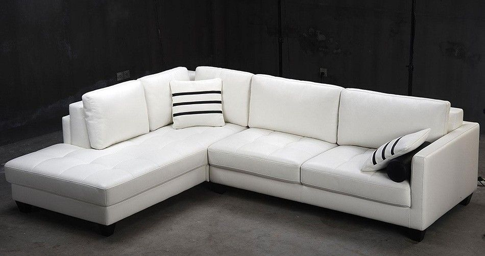 Awe Inspiring Modern Leather Sectional Sofa Its All About Refinement When Theyellowbook Wood Chair Design Ideas Theyellowbookinfo