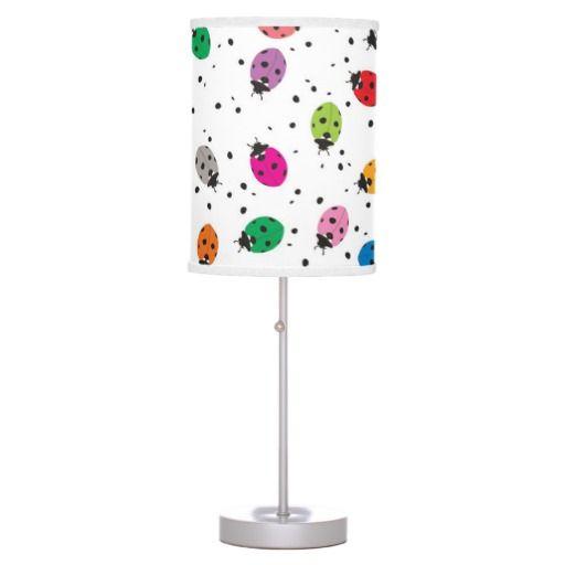 Ladybirds Rainbow Lamp