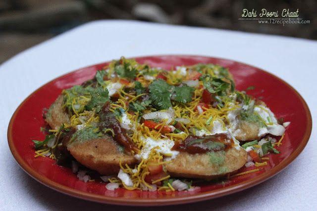 Dahi poori chaat recipe book snacks pinterest chaat recipe food dahi poori chaat recipe book forumfinder Image collections