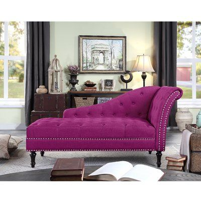 Darby Home Co Deedee Chaise Lounge Furniture Lounge