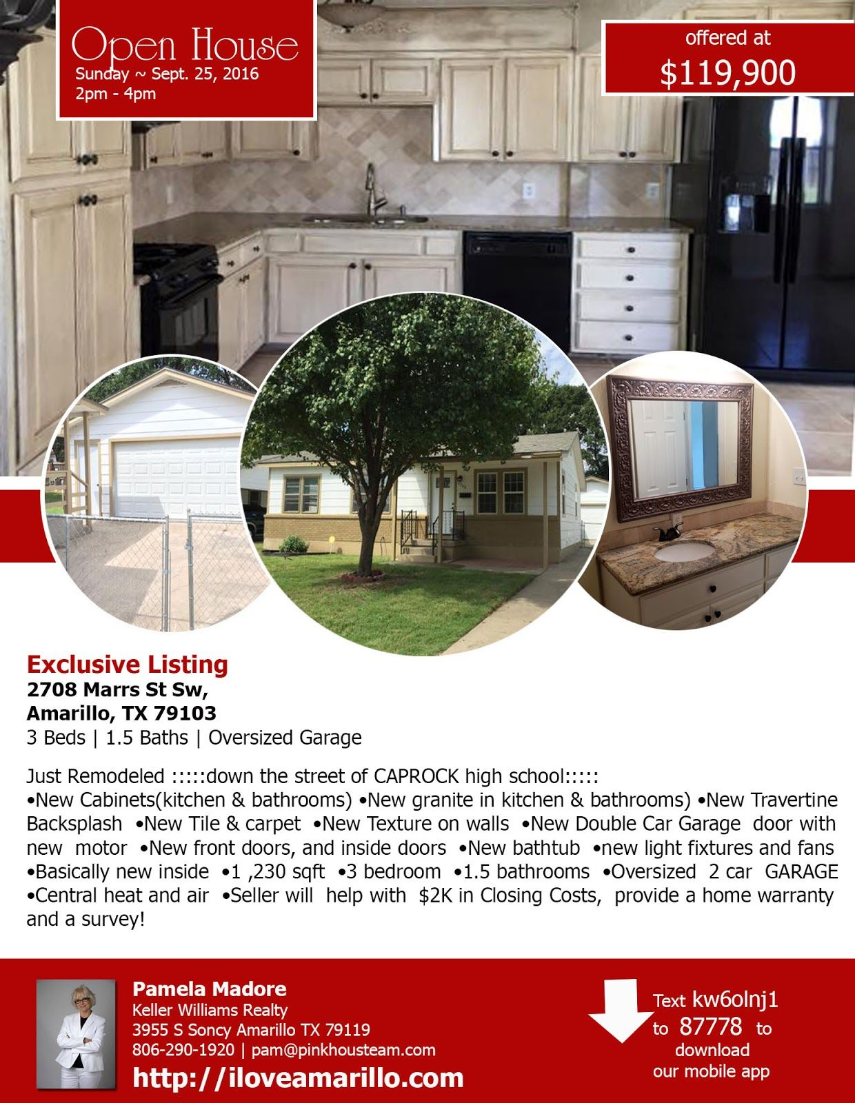 Open House for Marrs St Sw Amarillo TX nHome for Sale