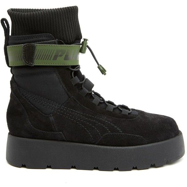845df726b93 ... Women. FENTY PUMA BY RIHANNA  Scuba  Boots ( 485) ❤ liked on Polyvore  featuring shoes