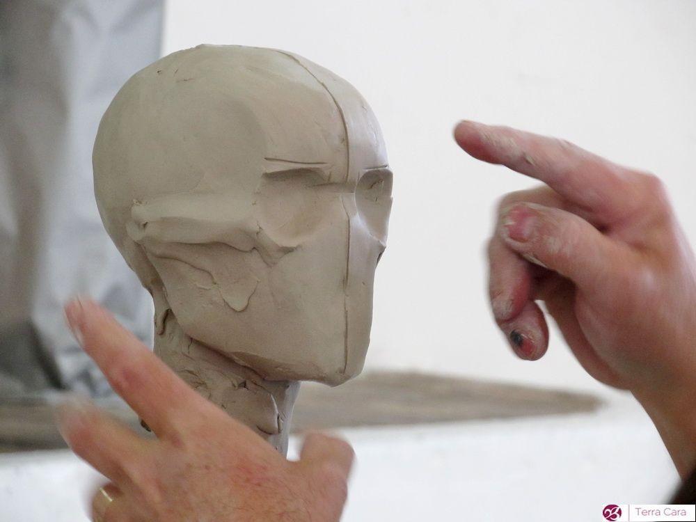 Workshop Kopf modellieren März | OBJEKTE AUS TON | Keramik / Figuren ...