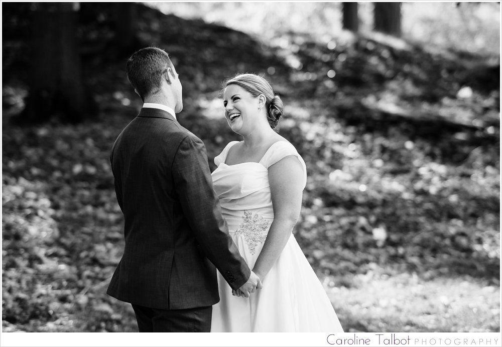 Nora & Rick: Married! | A Lyman Estate Wedding | Image by Caroline Talbot Photography | ctalbotphoto.com
