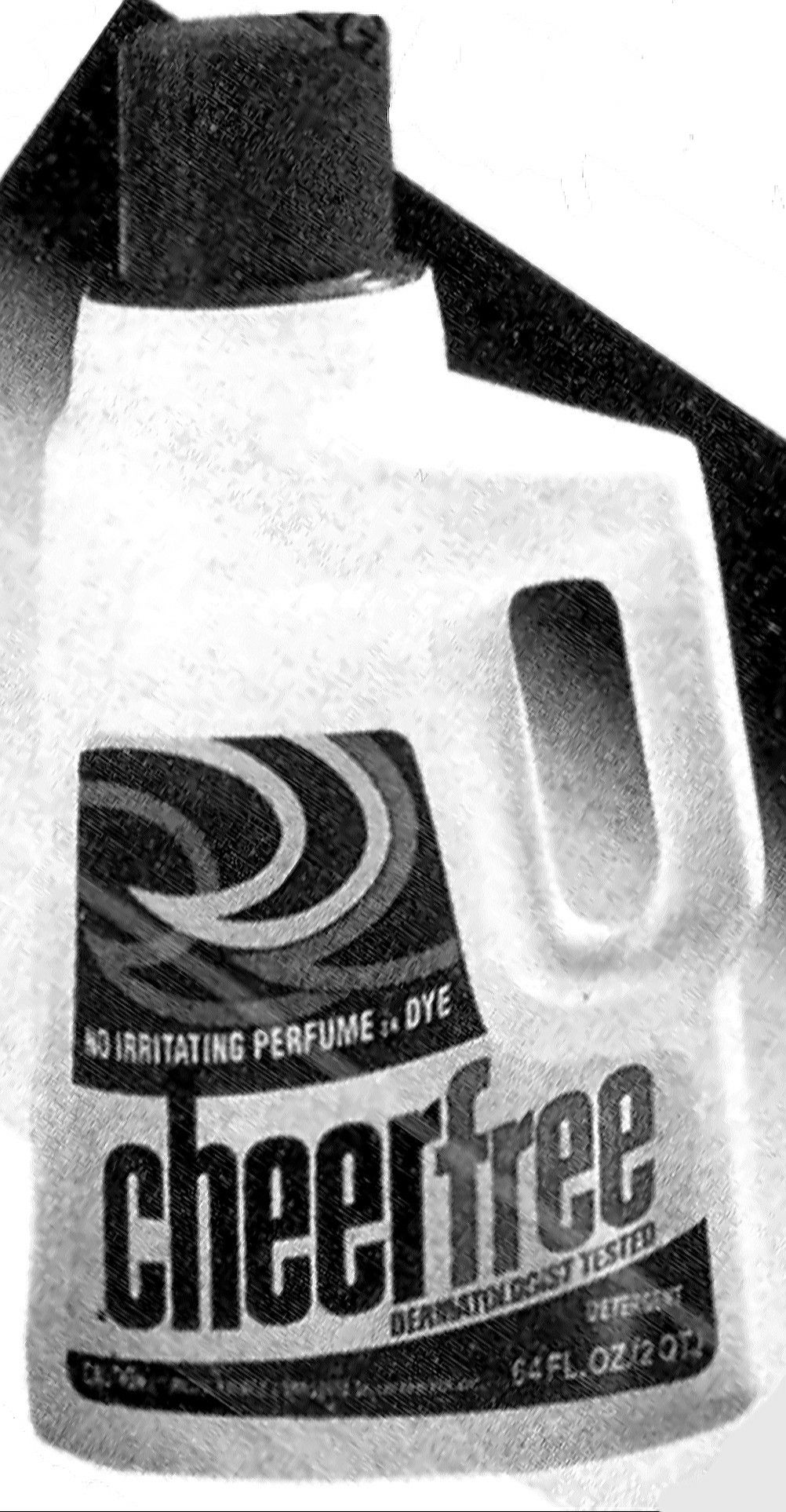 Cheer Free Laundry Detergent With No Perfumes Or Dyes 1989