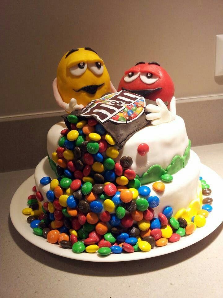 Voorkeur M&M taart | كيك | Pinterest | Cake @NB16