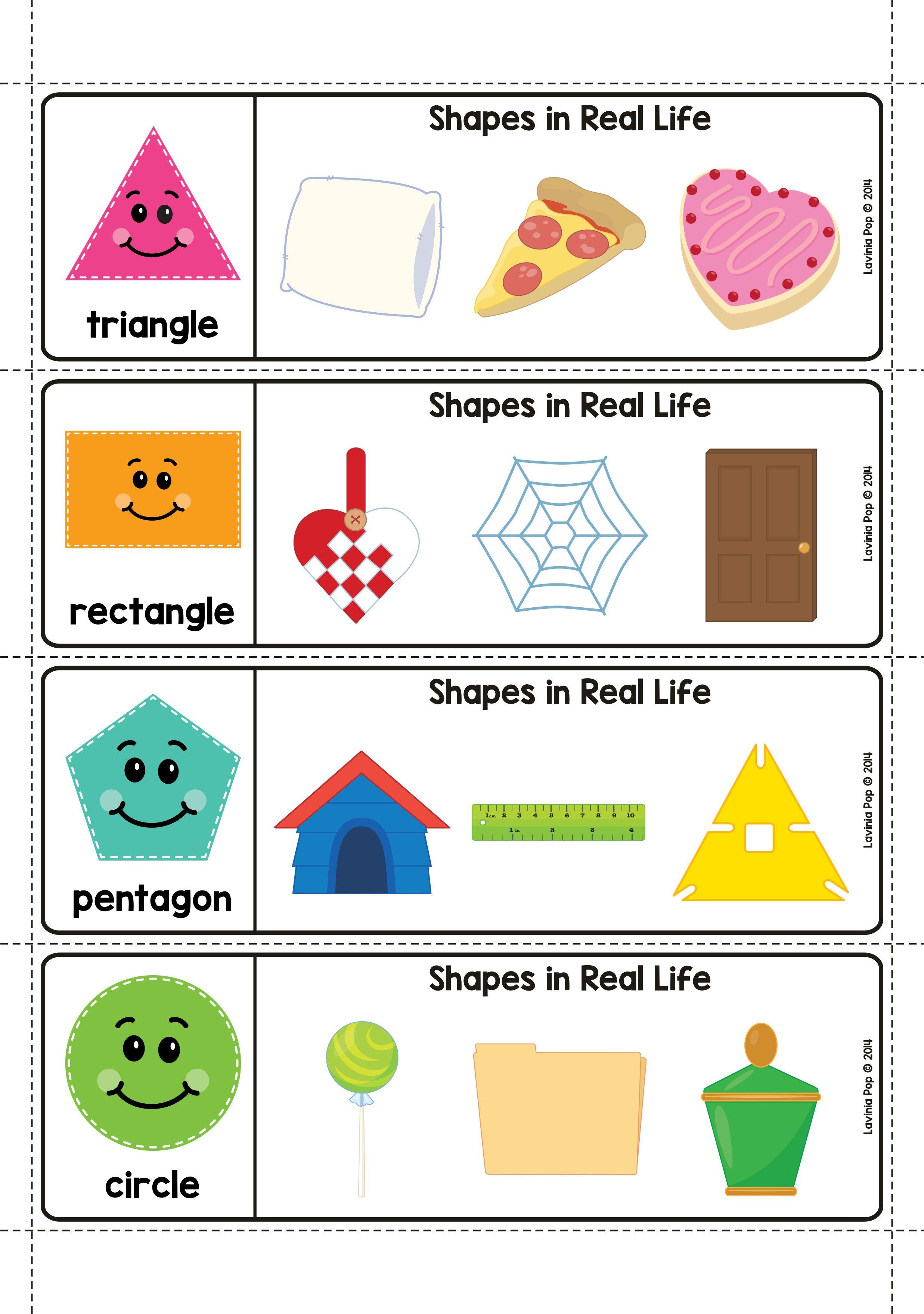 Spring Math Centers For Kindergarten 2d Shapes In Real Life Shapes Worksheet Kindergarten Shape Activities Kindergarten Kids Math Worksheets