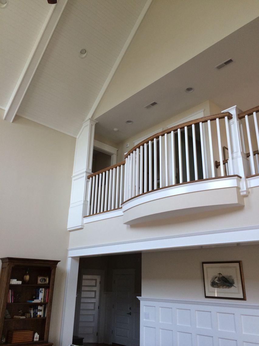 Ceiling, wall, balcony