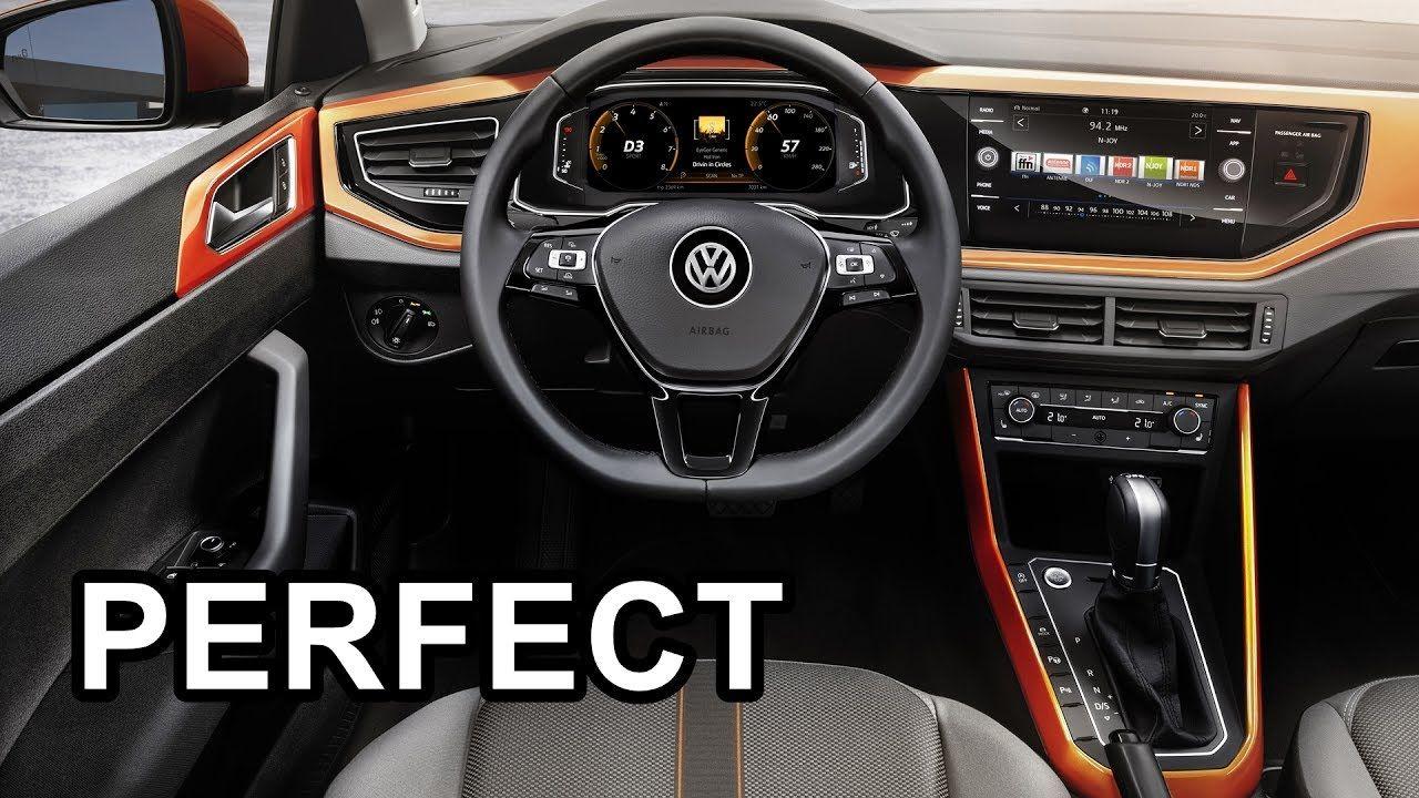2018 Volkswagen Polo Interior Volkswagen Polo Volkswagen Compact Cars