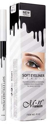 White Waterproof Waterline Eyeliner Pencil Eyeliner For Almond Eyes Eyeliner Eyeliner For Beginners