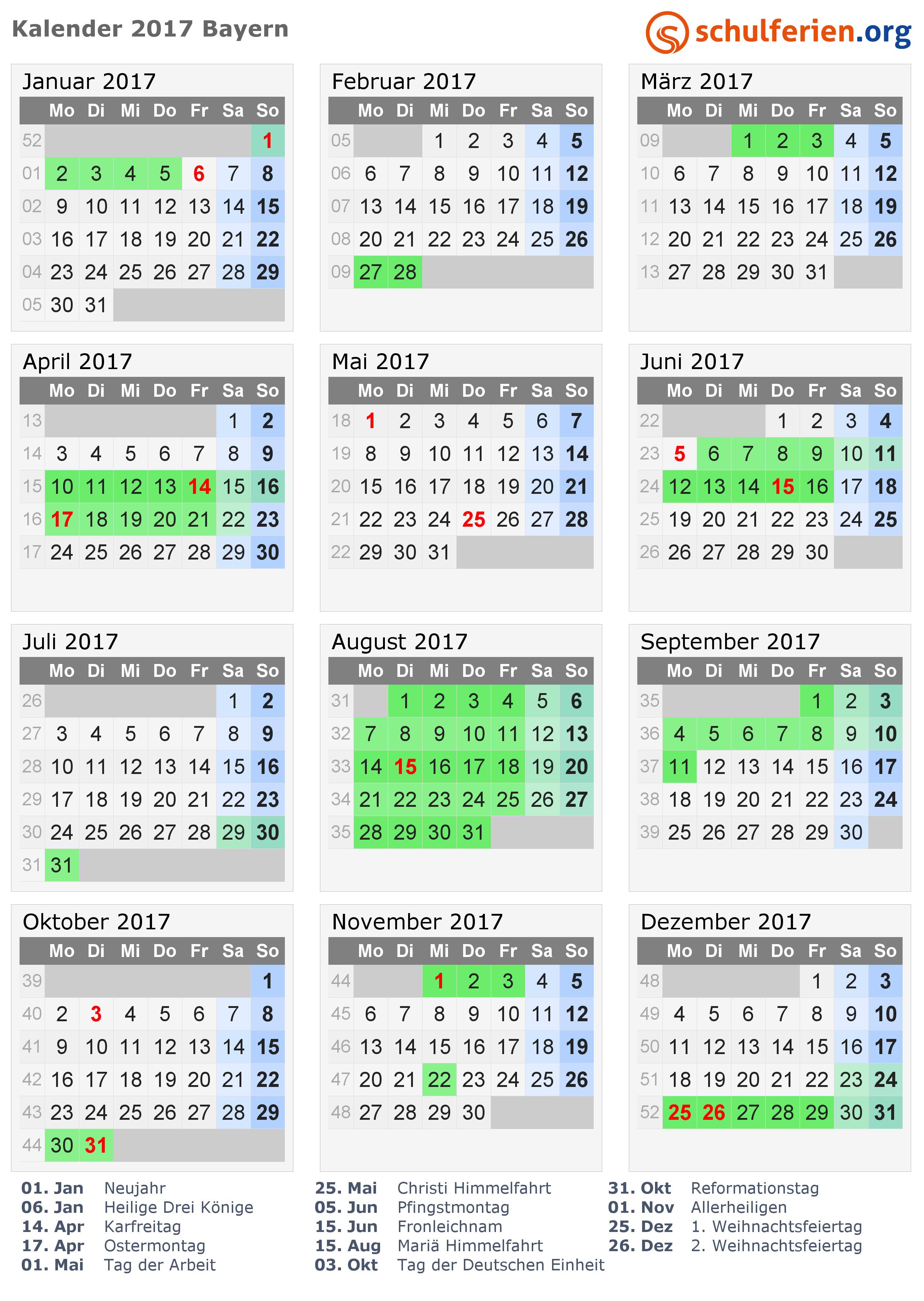 Feiertage September