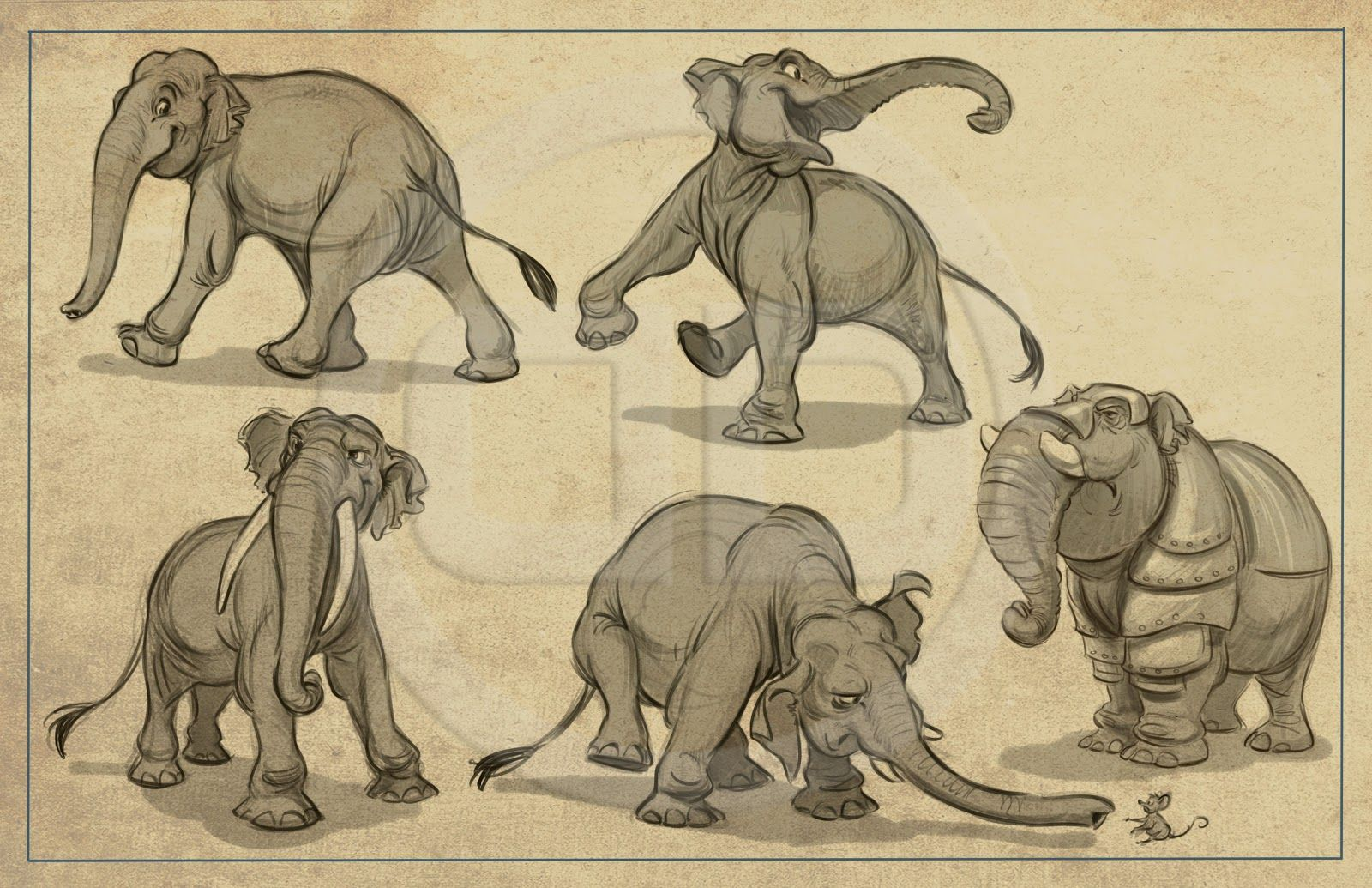 Image by Shutterstock Elephant Sideview Silhouette Women/'s Tee