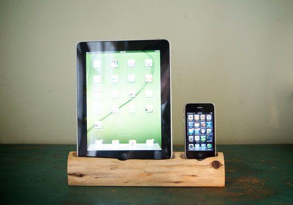 ipad holder- wood