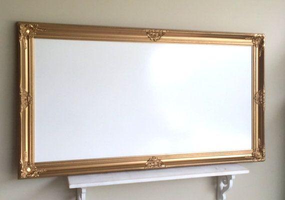 Huge Dry Erase Board 30 X54 Gold Whiteboard Magnetic Bulletin Board Office Organizer Wedding Sign Restaurant Magnetic White Board White Board Dry Erase Board